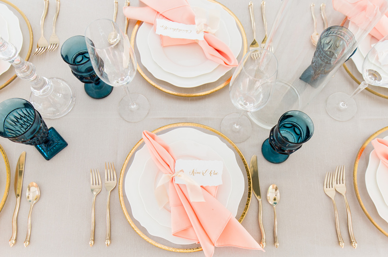 Formal Southern Wedding Inspriation Table
