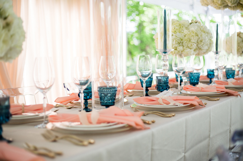 Formal Southern Wedding Inspriation Tablescape