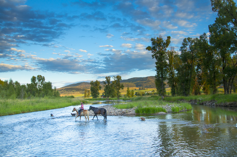 Steamboat Springs Colorado Horse Back Riding Noah Wetzel
