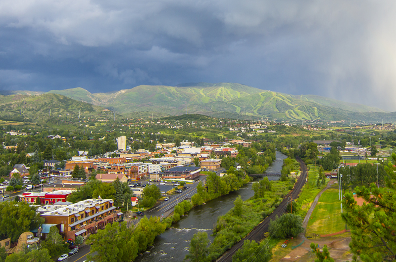 Steamboat Springs Colorado Town View Noah Wetzel