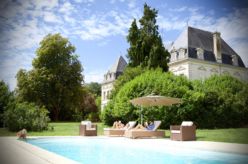 A Royal Romance At Chateau Fengari Pool