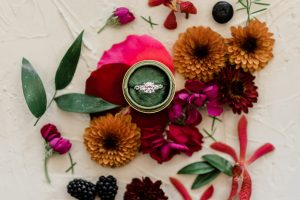 Jewel Toned Spanish Wedding Inspiration Feature Image