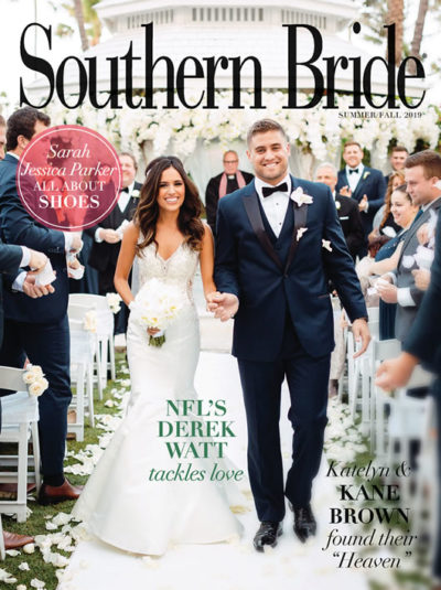 Southern Bride Magazine Fall Cover 2019