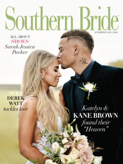 Southern Bride Magazine Summer Cover 2019