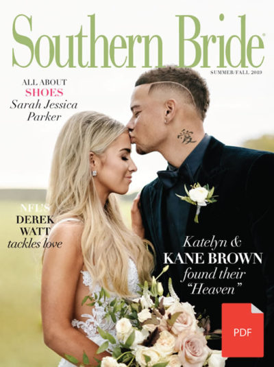 Southern Bride Magazine Summer PDF Cover 2019