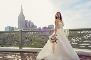 Hotels As Ideal Wedding Venues AC Hotel Nashville Tennessee Bride On Bridge