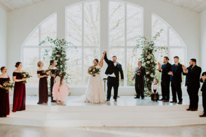 Newlywed Looks Stormie Berry And Cody Moodie Wedding Ceremony