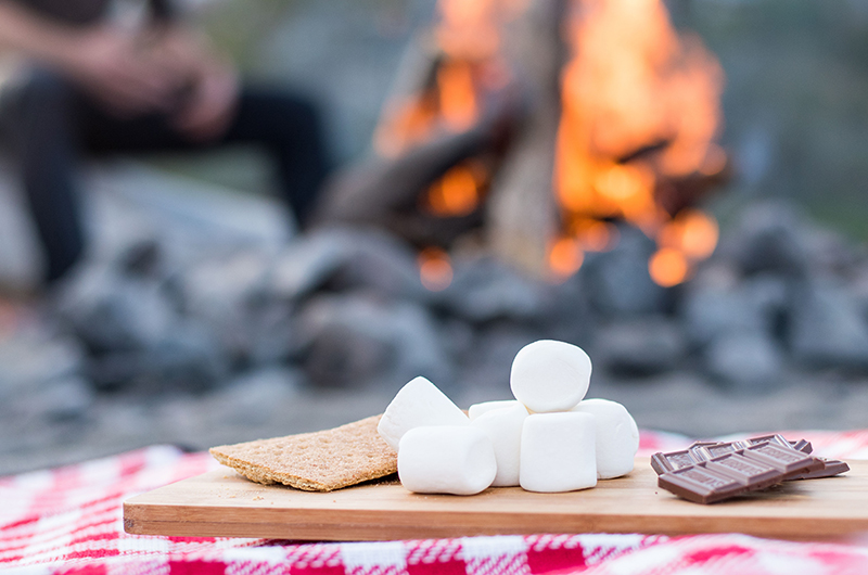 Fall Weddings Call for S'mores