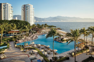 Marriott Puerto Vallarta Resort & Spa Outdoor Pool With Ocean Views