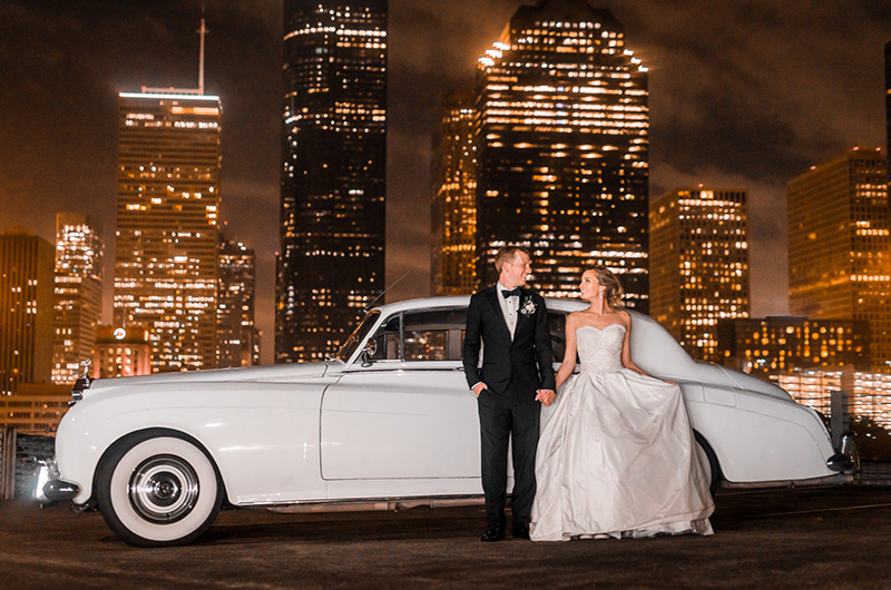 Kathryn Leona And Justin Stewart Cox Bride And Groom City Background