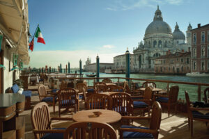 Venice Love On The Grand Canal Hotel Danieli And Gritti Palace Outdoor Patio