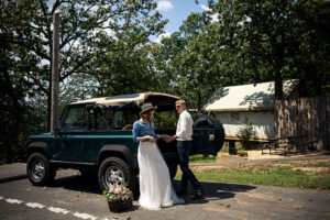 Rustic Luxury At Missouris Big Cedar Lodge Couple With Hummer