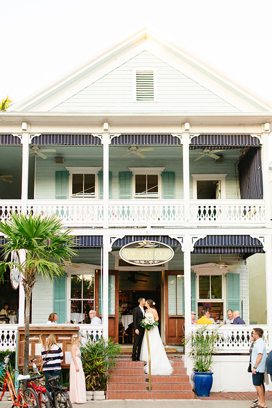 Historic Bagatelle Restaurant In Old Town Key West Florida House