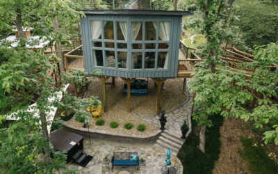 Sulfur Ridge™ is Tennessee's First Luxury Treehouse™ and Shasta Camp