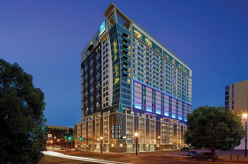 AC Hotel Nashville Downtown, Residence Inn Nashville Downtown/Convention Center & SpringHill Suites Nashville Downtown/Convention Center