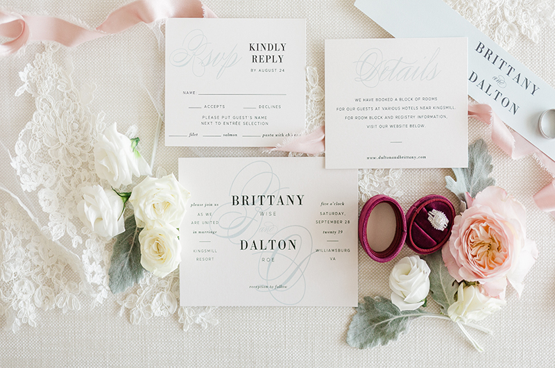 Brittany Wise And Dalton Roe Stationery