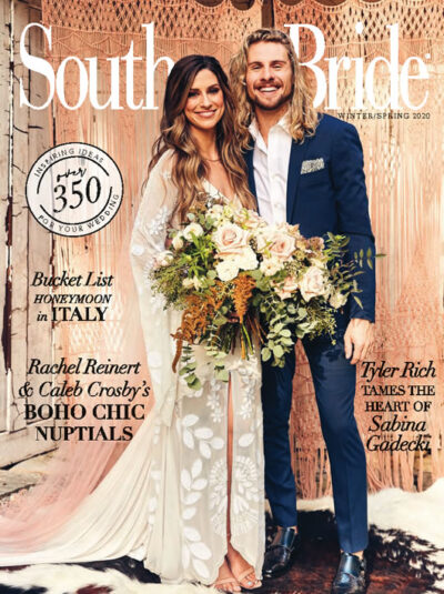Southern Bride Magazine Cover Spring 2020 In Print
