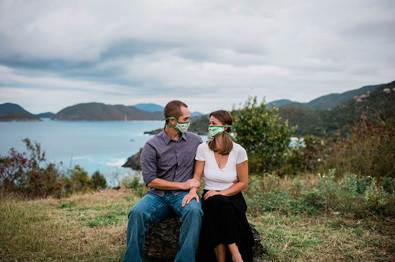 Island Engagement on St. John Proves Love Isn't Cancelled