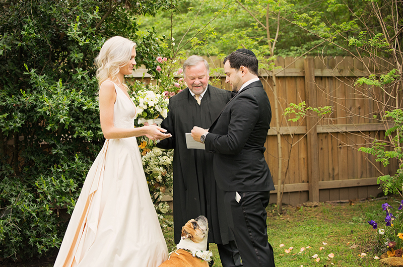 Memphis Chef Josh Steiner & Marketing Director Wallis Tosis Virtual At Home I Do Is Beyond Adorable Ceremony