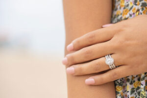 No Fuss & Affordable Wedding Rings Belle Ring Close Up