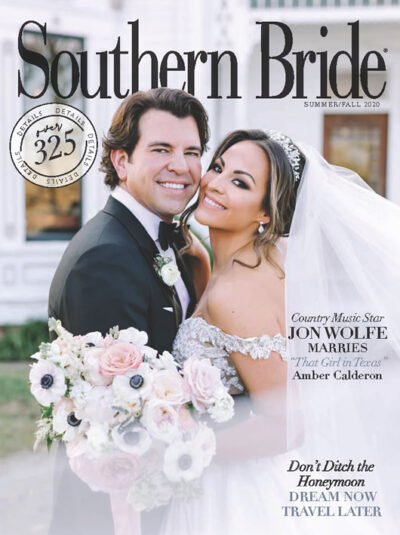 Southern Bride Magazine Cover Fall 2020 In Print