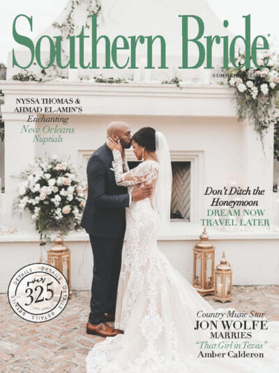 Southern Bride Magazine Cover Summer 2020 In Print