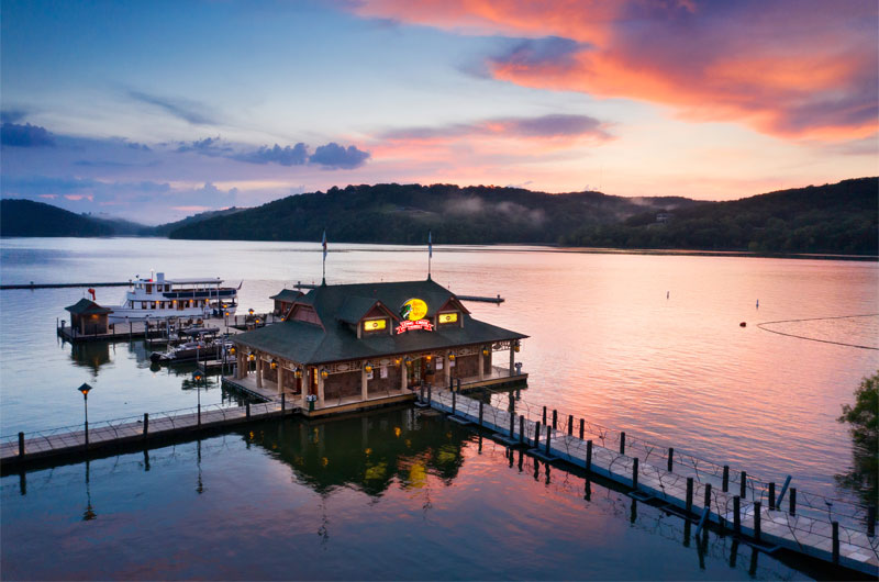 Escape To Connect Amongst Nature At Big Cedar Lodge Marina Sunset