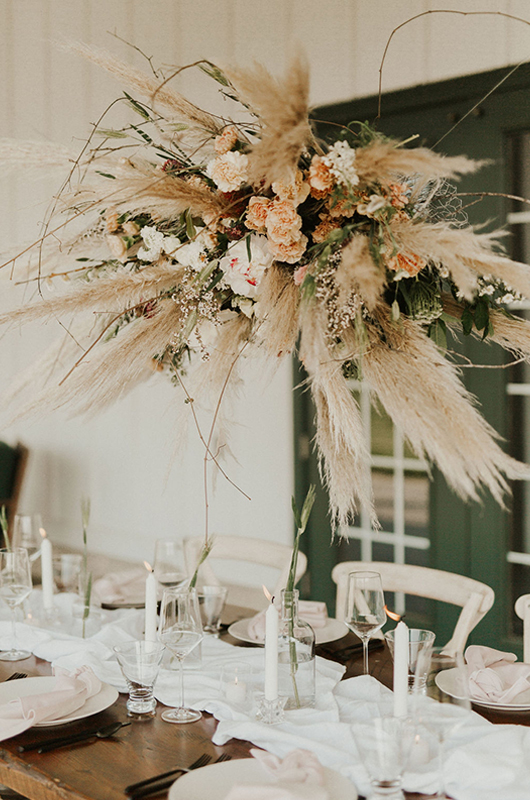 Have A Unforgettable Elopement With Amy Marie Events Table Centerpiece
