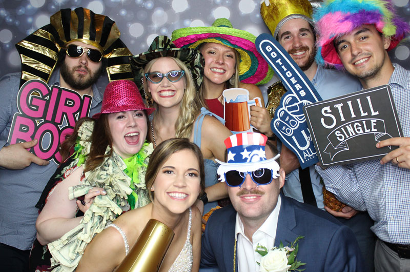 The Top 5 Reasons to Invite Tickled Pink Photo Booth to Your Wedding