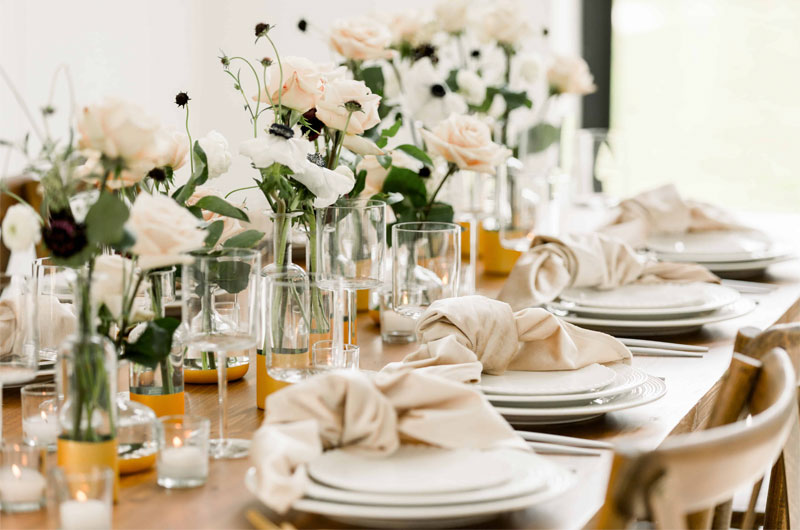 Organic Floral Inspiration Just In Time for Your Fall Wedding