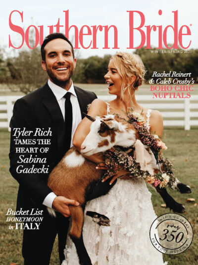 Southern Bride Magazine Cover Winter 2020 In Print