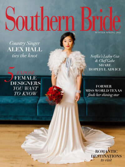 Southern Bride Magazine Winter 2021 Cover Of The Winter Spring 2021 Edition