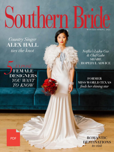Southern Bride Magazine 2021 Winter Cover Digital